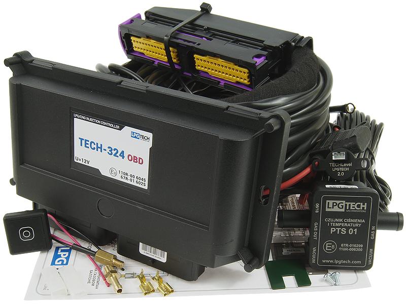 lpgtech tech-324 obd электроника последовательность 4 цил