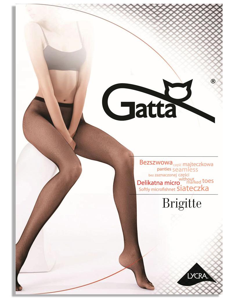 Gatta rajstopy Kabaretki siateczka Brigitte 06#1/2