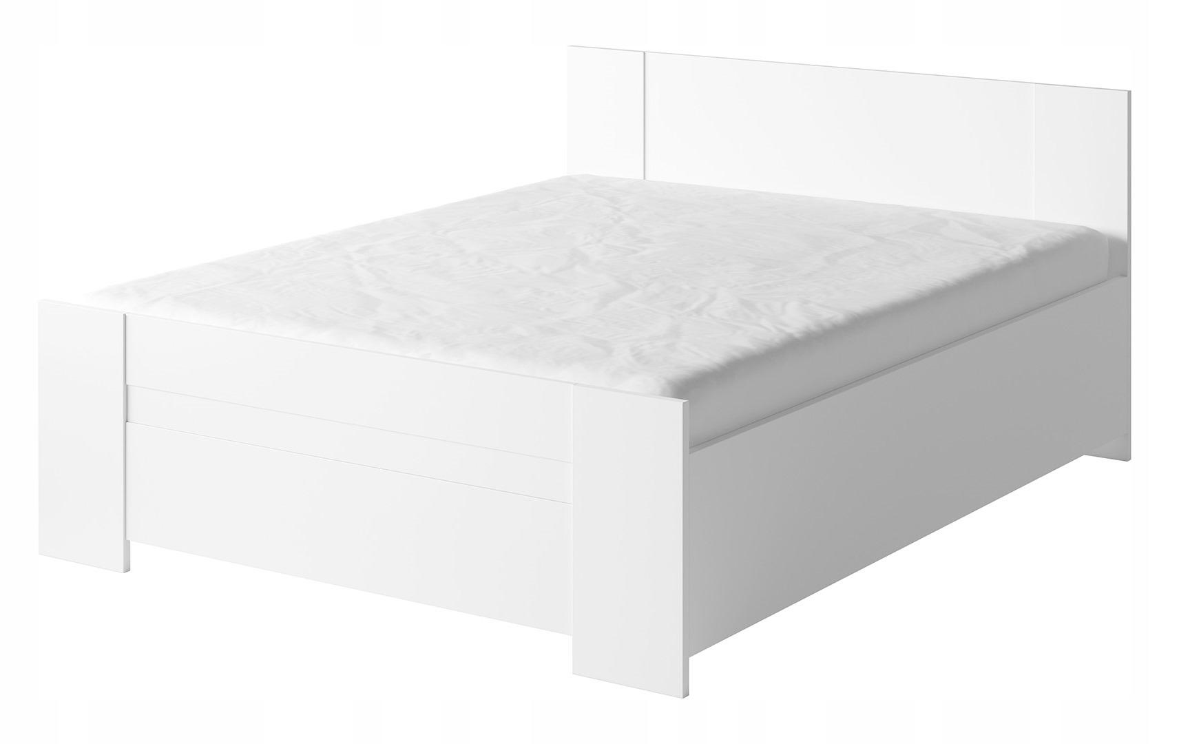 BONO posteľ 160x200 aj s matracom, bez hlavovej opierky