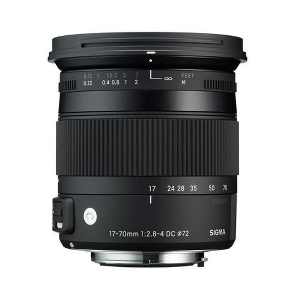 Item SIGMA 17-70 f2.8-4 C DC MACRO OS HSM Nikon gw 3+2