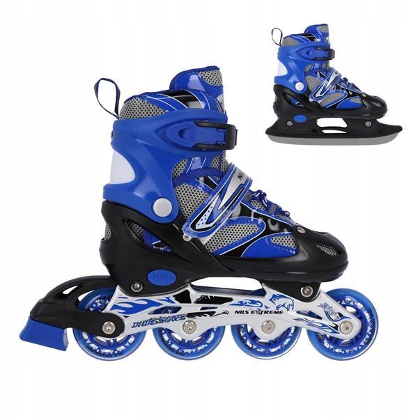 2V1 Nastaviteľné korčule + vymeniteľné korčule