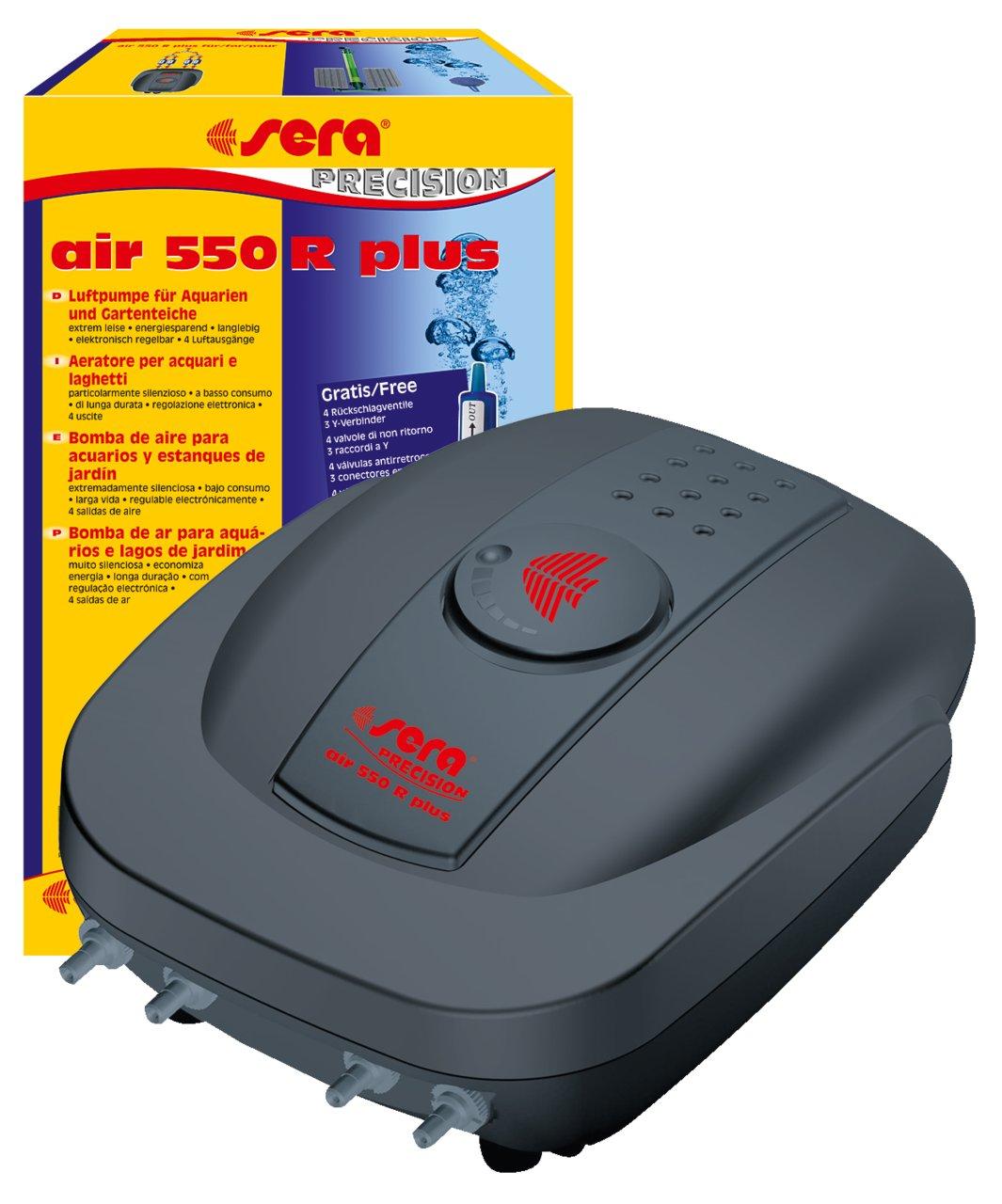 SERA AIR 550R _ napowietrzająca čerpadla v akváriu