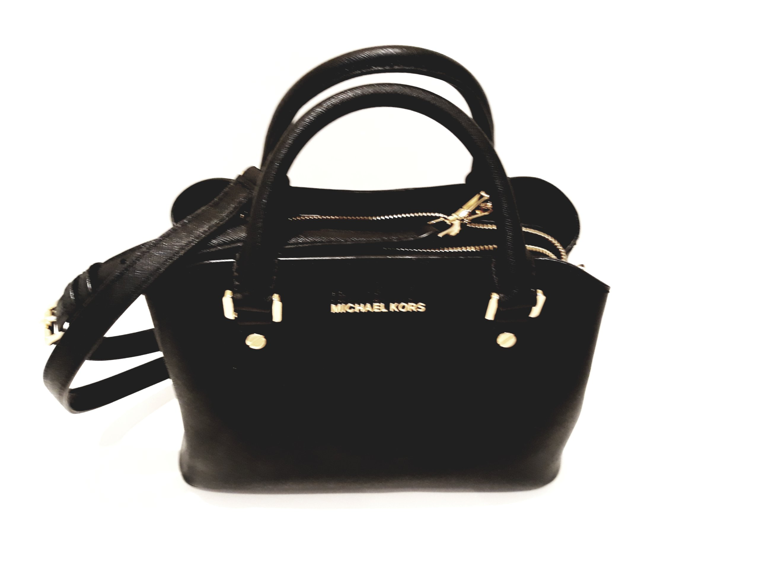 f299969d11764 Michael Kors torebka Savannah Small Setchel czarna - 7137420043 ...