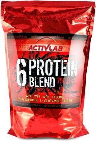 Activlab 6 protein blend 750g wiśnia
