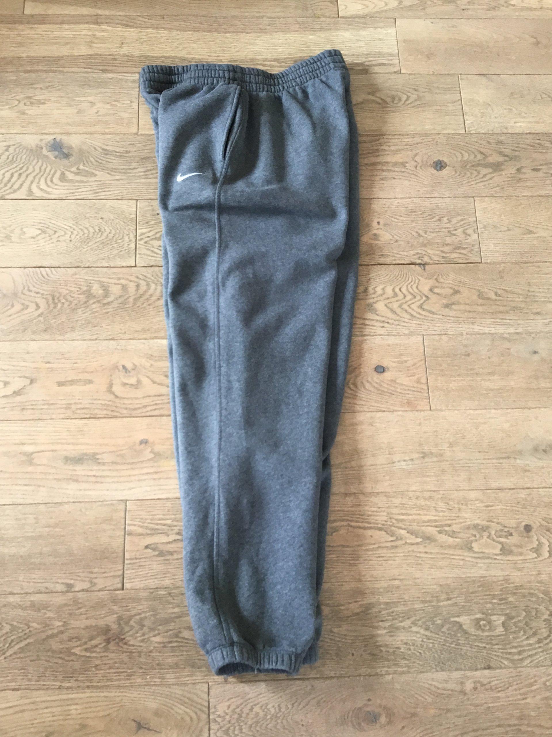 af84d49210db6 Dresowe Marki Spodnie Xl Oficjalne 7283905254 Szare Nike zRFCq