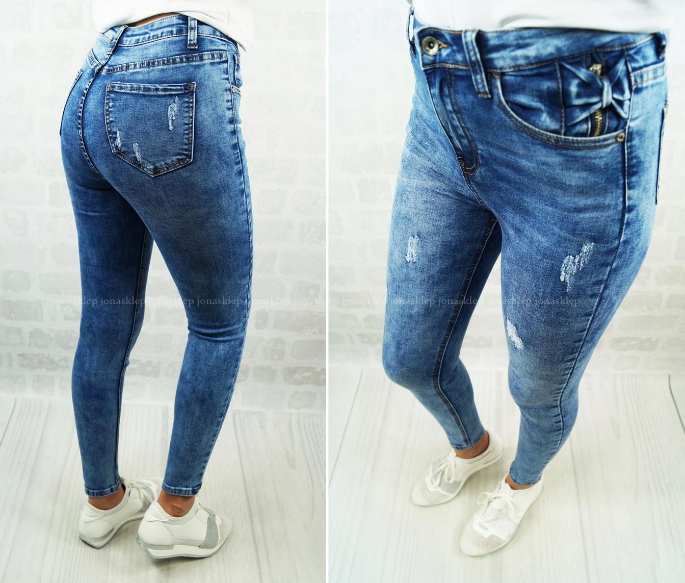 1d90d9b5 Spodnie CLASSIC jeansy BOW przetarcia L - 7711377722 - oficjalne ...