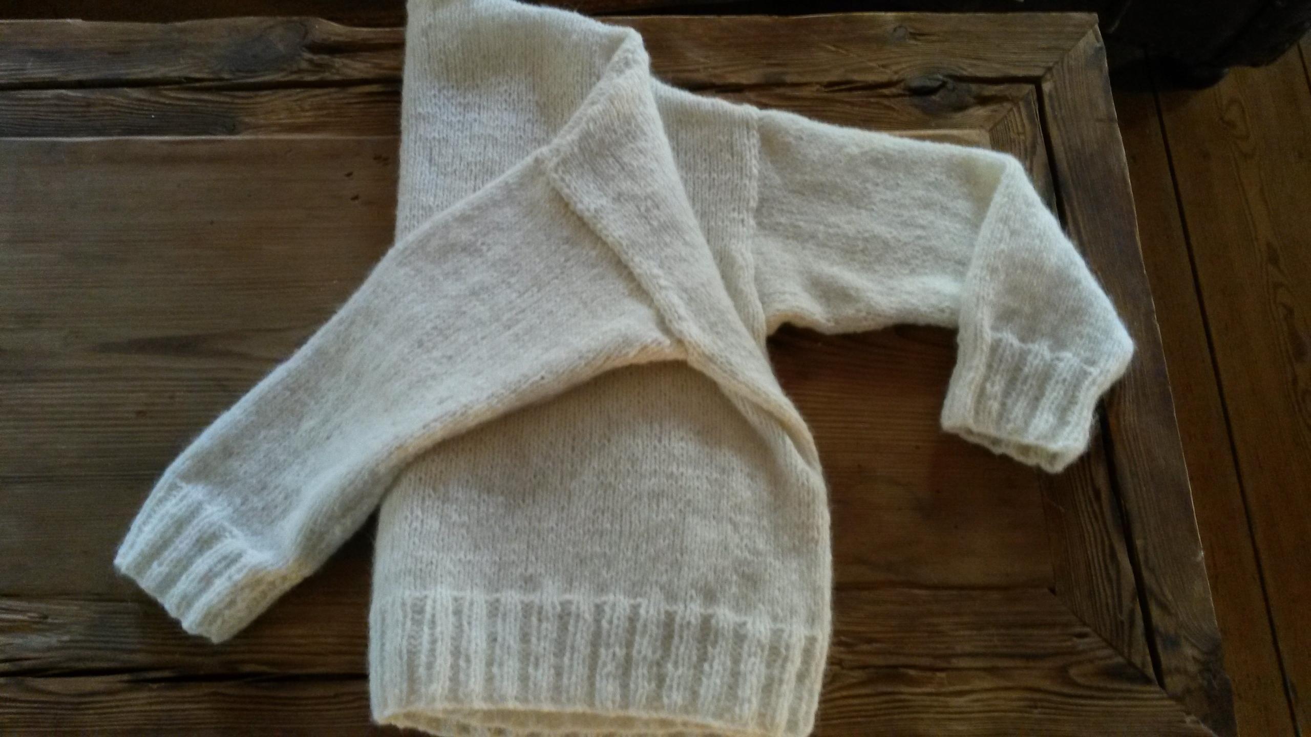Sweter alpaka ręcznie robiony