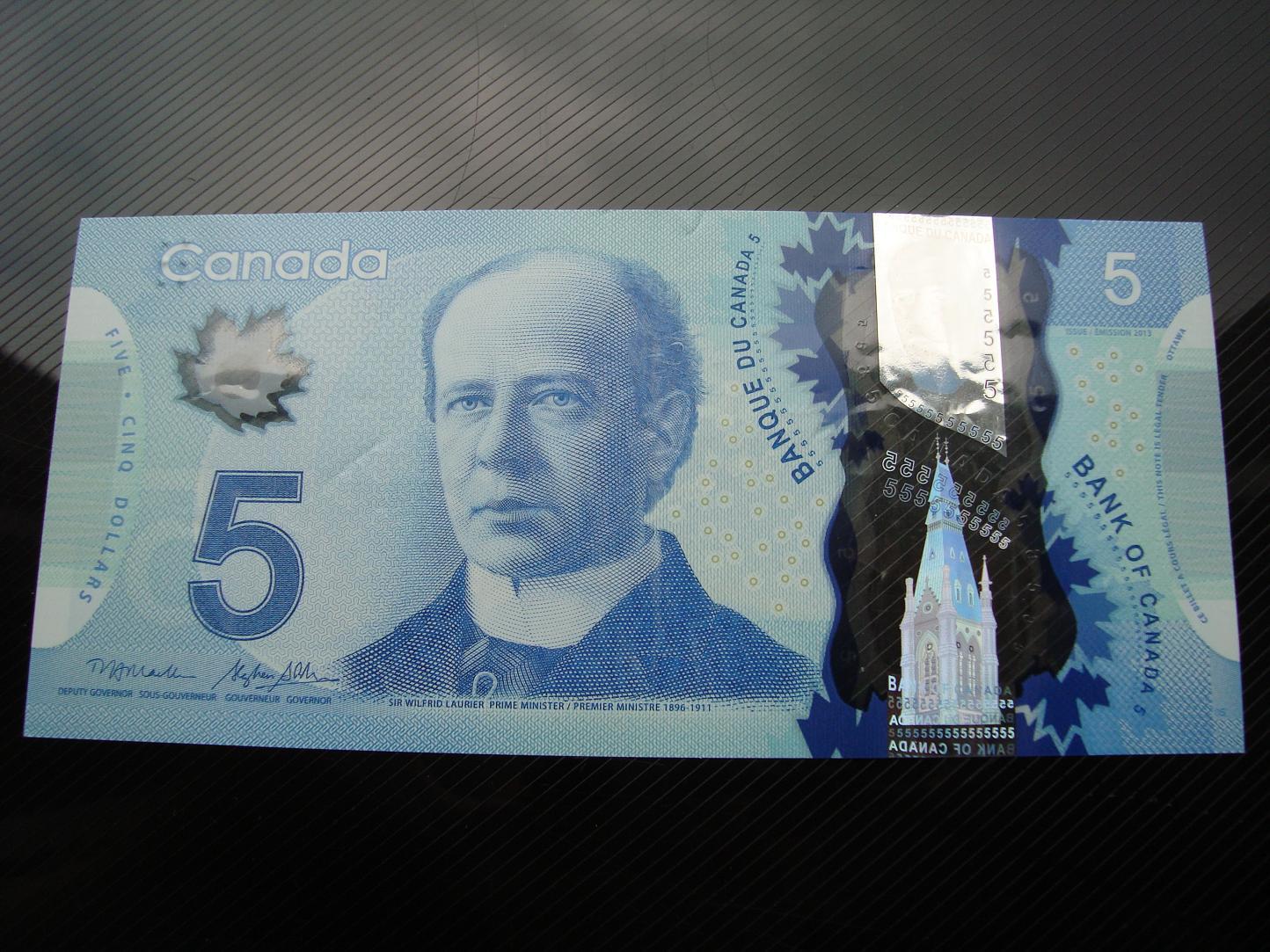 5$ Kanada-polimerwy