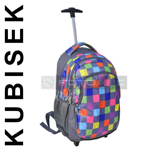 c3657f21bcff1 81-997E PASO Plecak młodzieżowy NA KÓŁKACH TROLLEY - 5419179138 ...