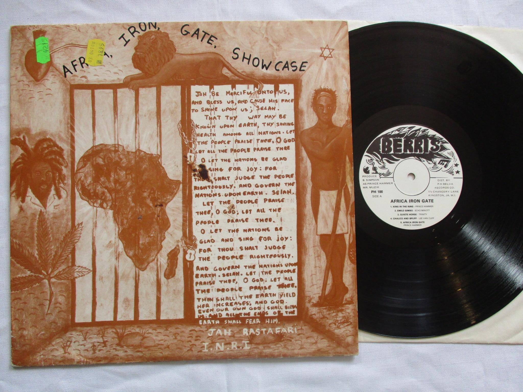 Africa Iron Gate Showcase #2760