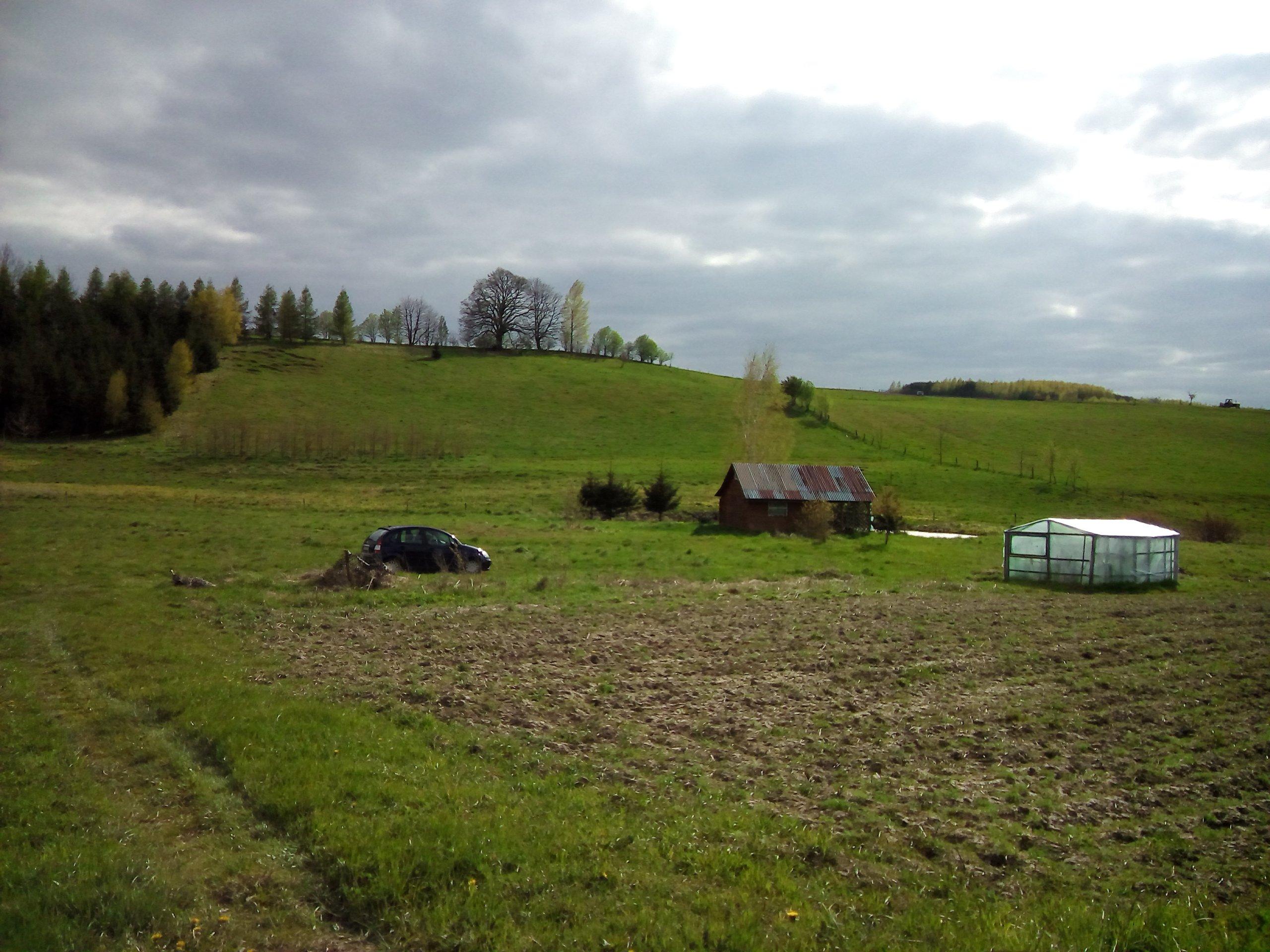 Działka rolna Łabno Lidzbark Warm CENA DO NEGOCJAC