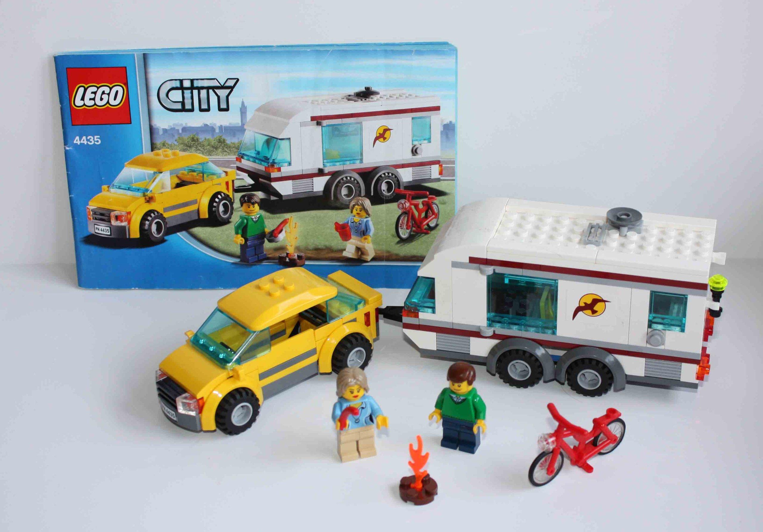 Lego City 4435 Samochód Z Przyczepą Kempingową 7169289056