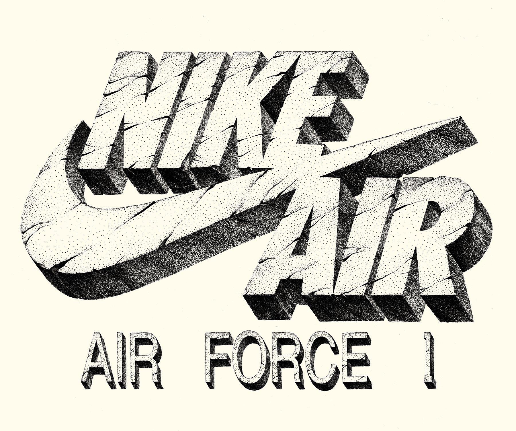 NIKE AIR FORCE 1 DUCKBOOT BLACK / BROWN - 42 DO 46