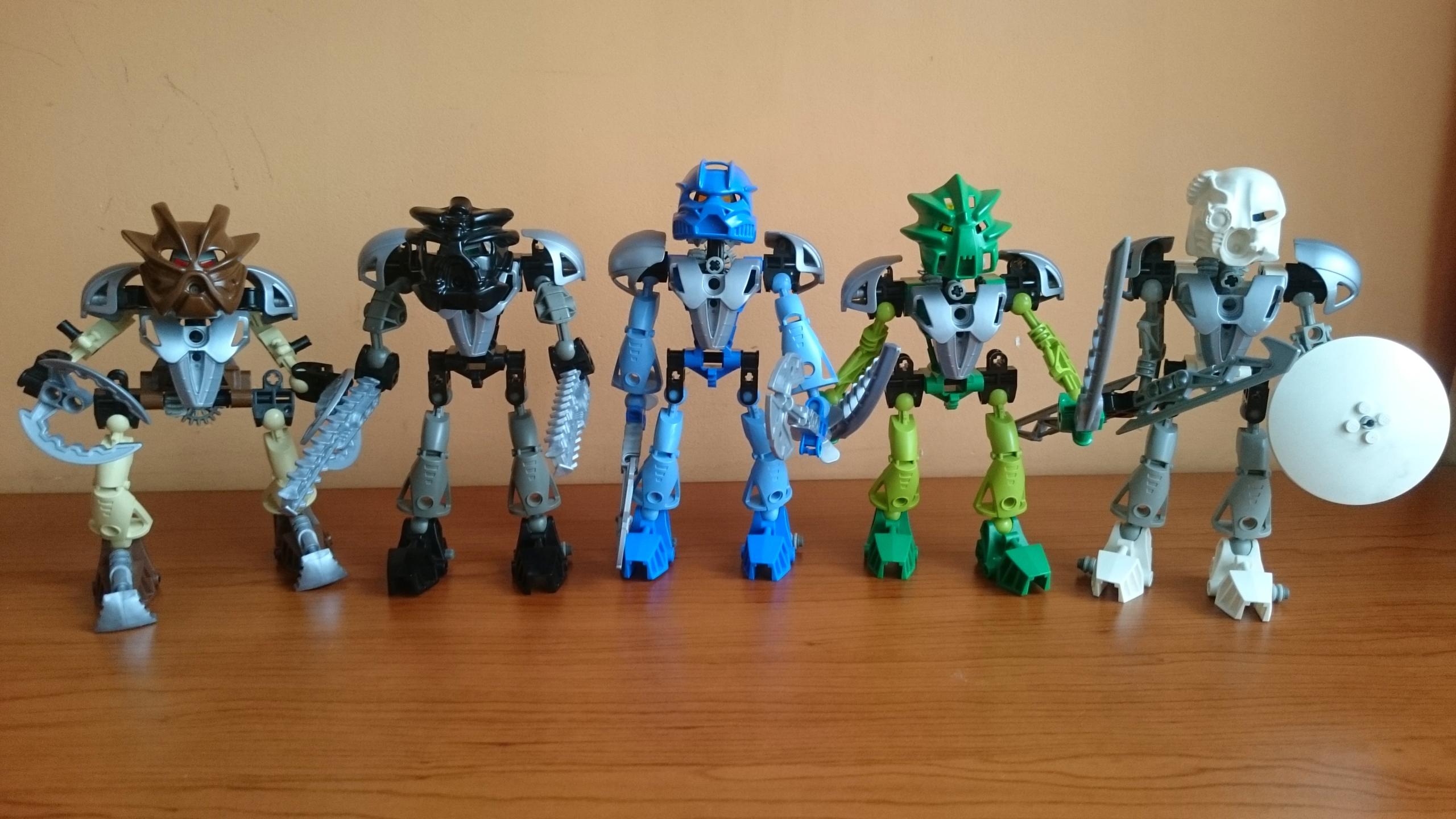 Lego Bionicle Toa Nuva Zestaw 8566 8571 7504568567