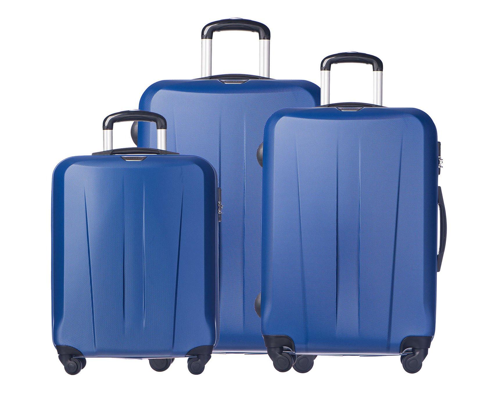 651a4c6fb4dbe OUTLET Komplet walizek na kółkach Puccini Paris - 7276280540 ...