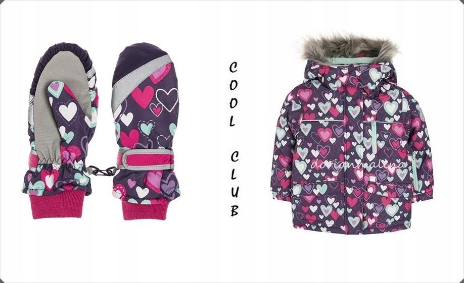***COOL CLUB****Rękawiczki narciarskie_j.NOWE