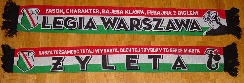 Szal LEGIA WARSZAWA