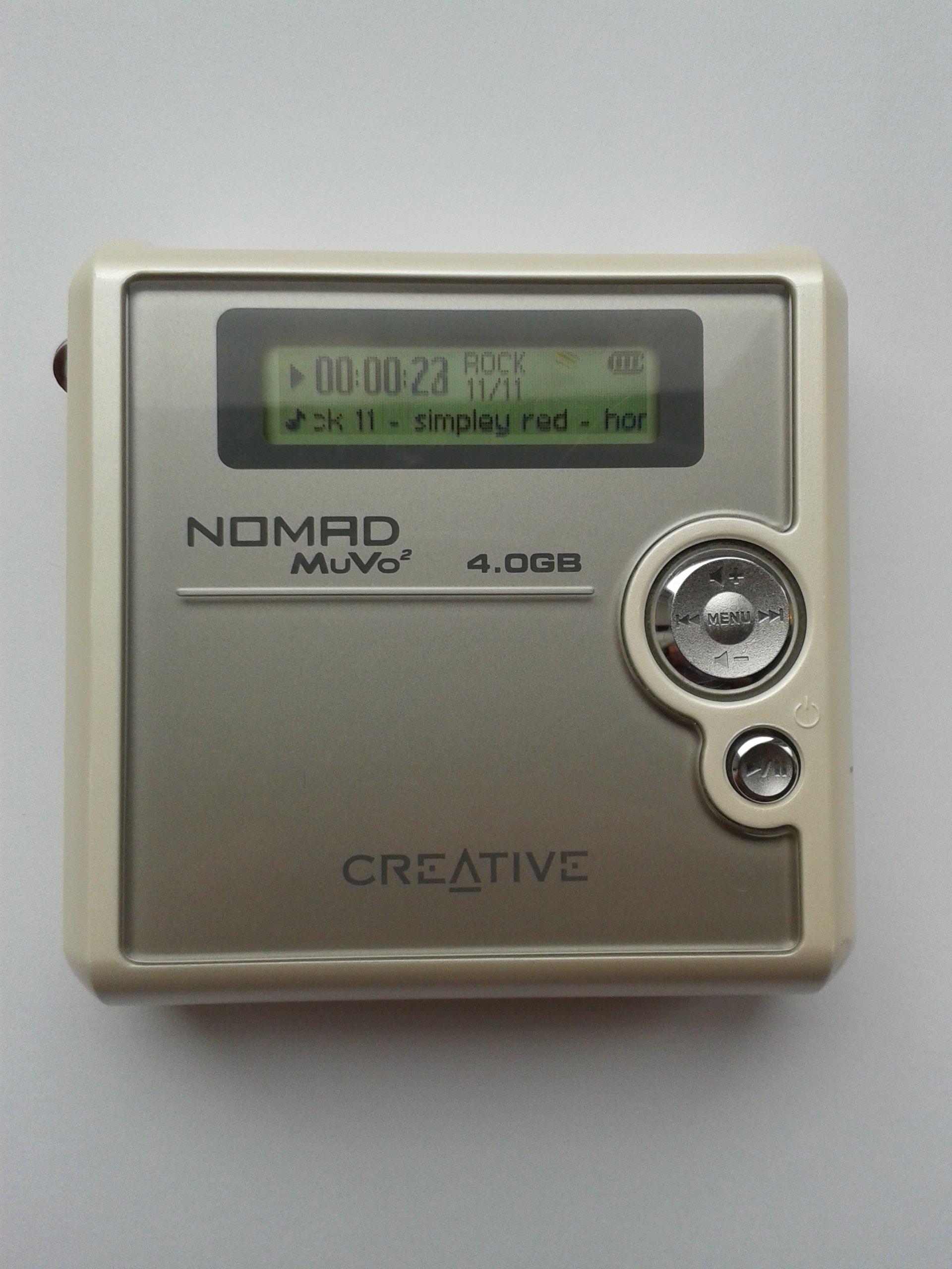 CREATIVE NOMAD MUVO2 4GB DRIVER