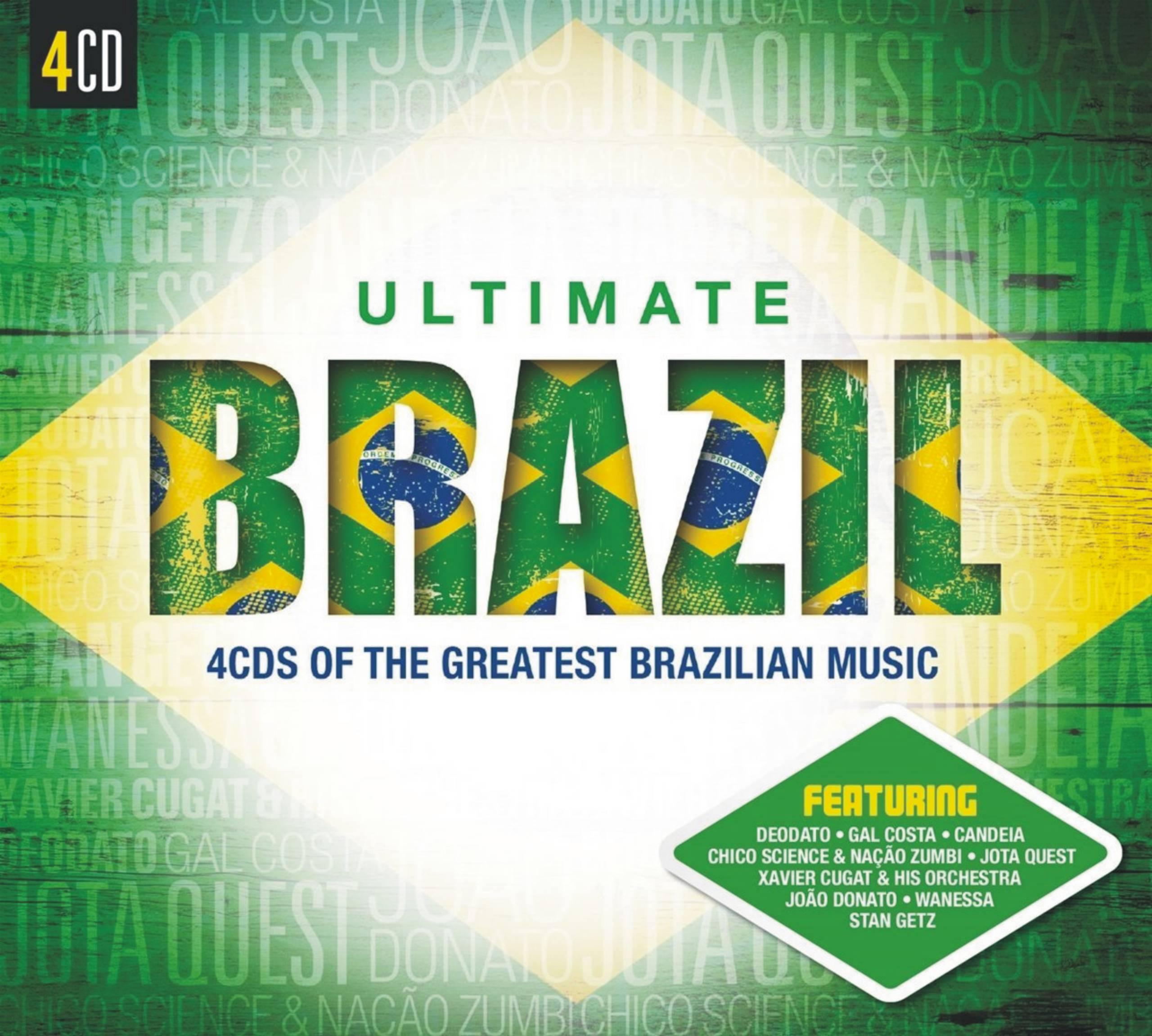 Ultimate    Brazil 4CD Leo Rodriguez , Joao Bosco