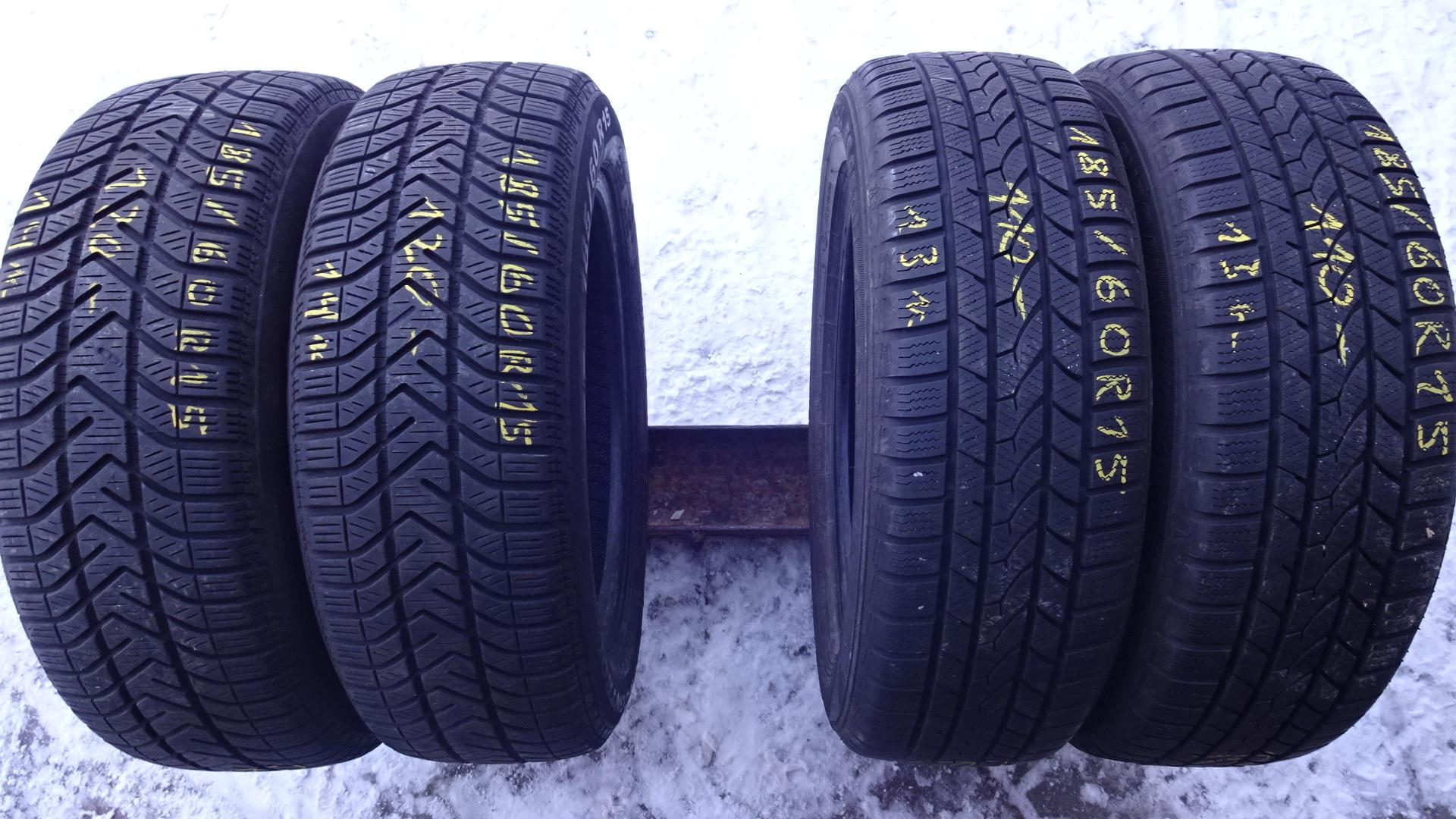 Opony Zimowe 18560r15 Pirelli Falken Super Cena 7157966138