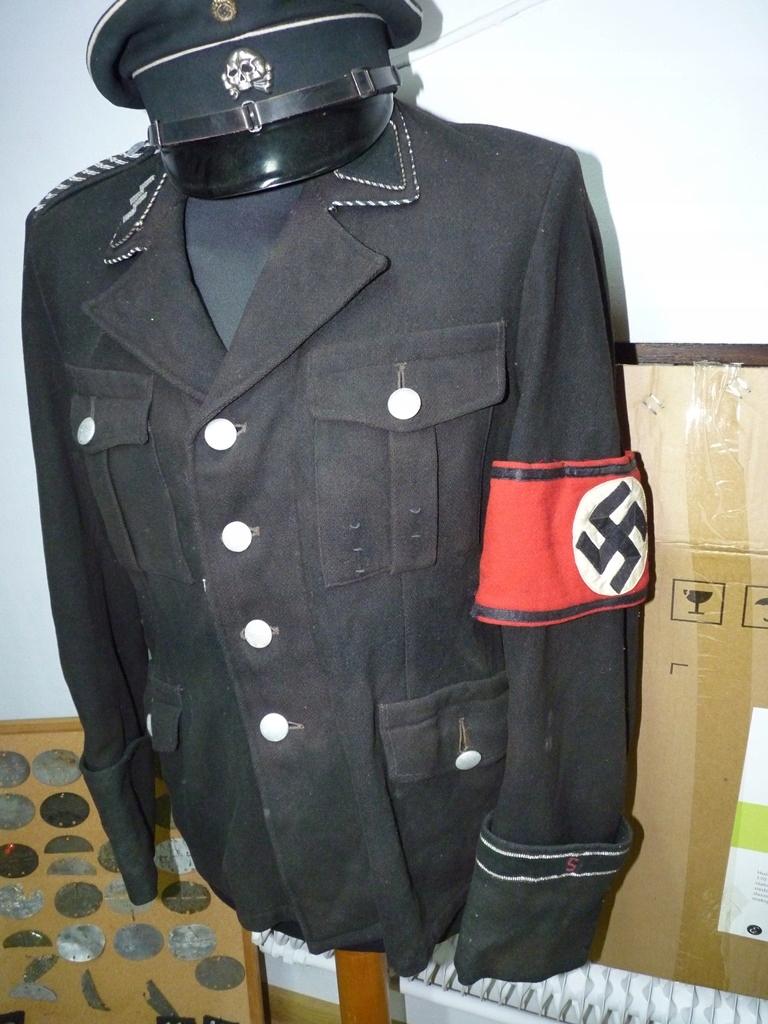 Mundur Allgemeine SS oryginał. Stan dobry Rzadkość