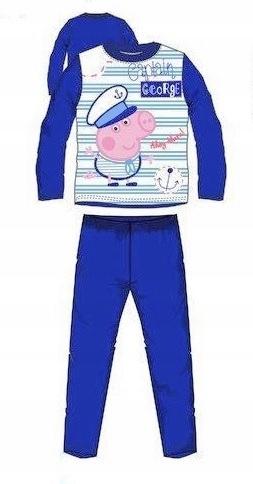 4fa4b9e4b1c3c0 ŚWINKA PEPPA pig piżama dziecięca chłopięca 116 6L - 7448811595 ...