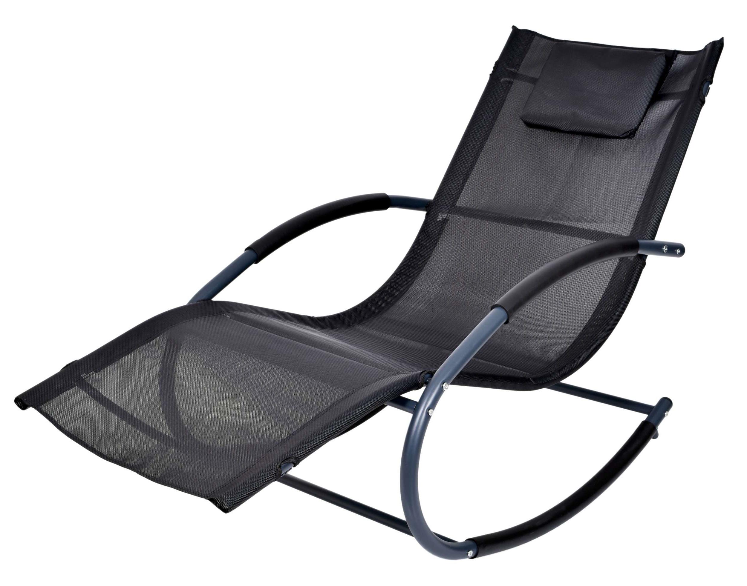Leżak Ogrodowy Fotel Bujany Do Ogrodu Na Taras 7174988689
