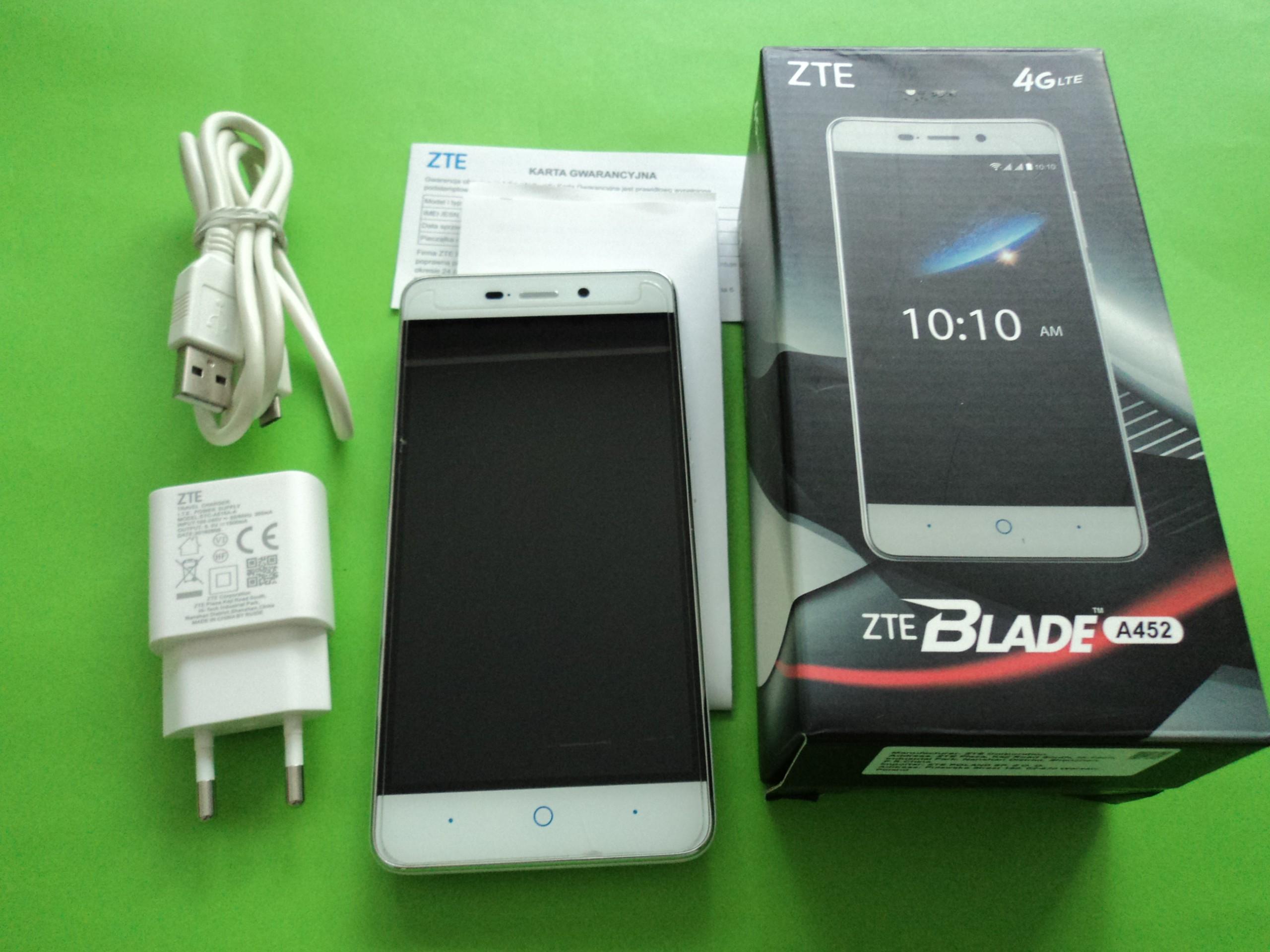 4db422220 ZTE Blade A452-Dual BDB stan gwar.-mocna bateria - 7442163555 ...
