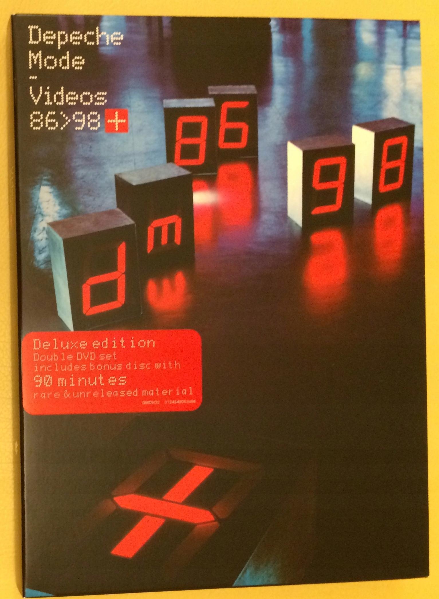 Depeche Mode - Videos 86>98 (Deluxe) [2DVD]