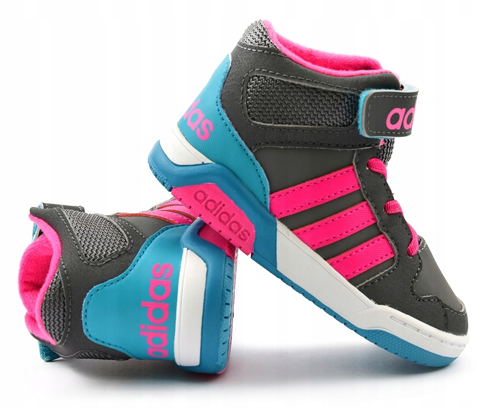Buty za kostkę adidas bb9tis mid r.34 40 junior Zdjęcie na