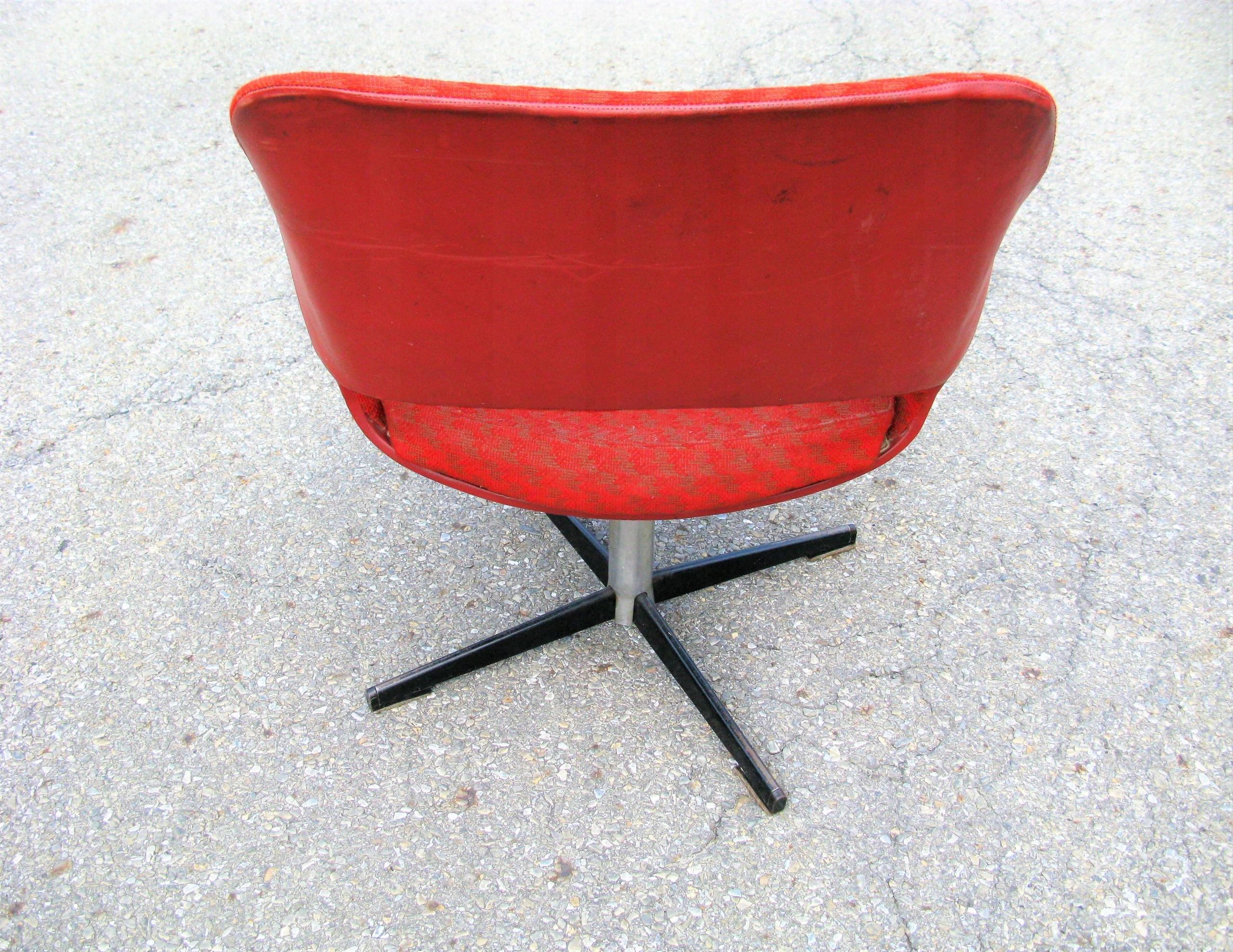 Fotel Obrotowy Muszelka Prllata70te 7545302089 Oficjalne