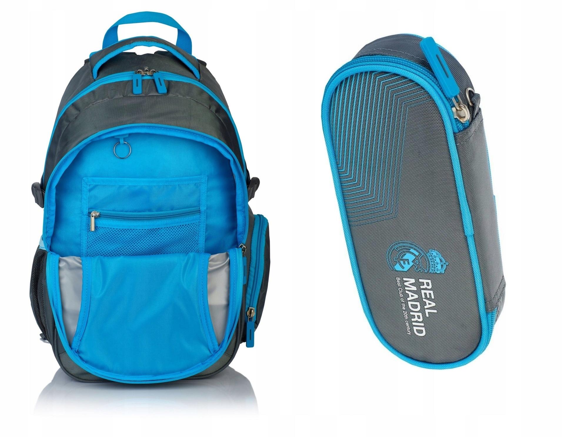 2533e5632cd6 Plecak szkolny piórnik Real Madryt RM-148 zestaw - 7500866402 ...
