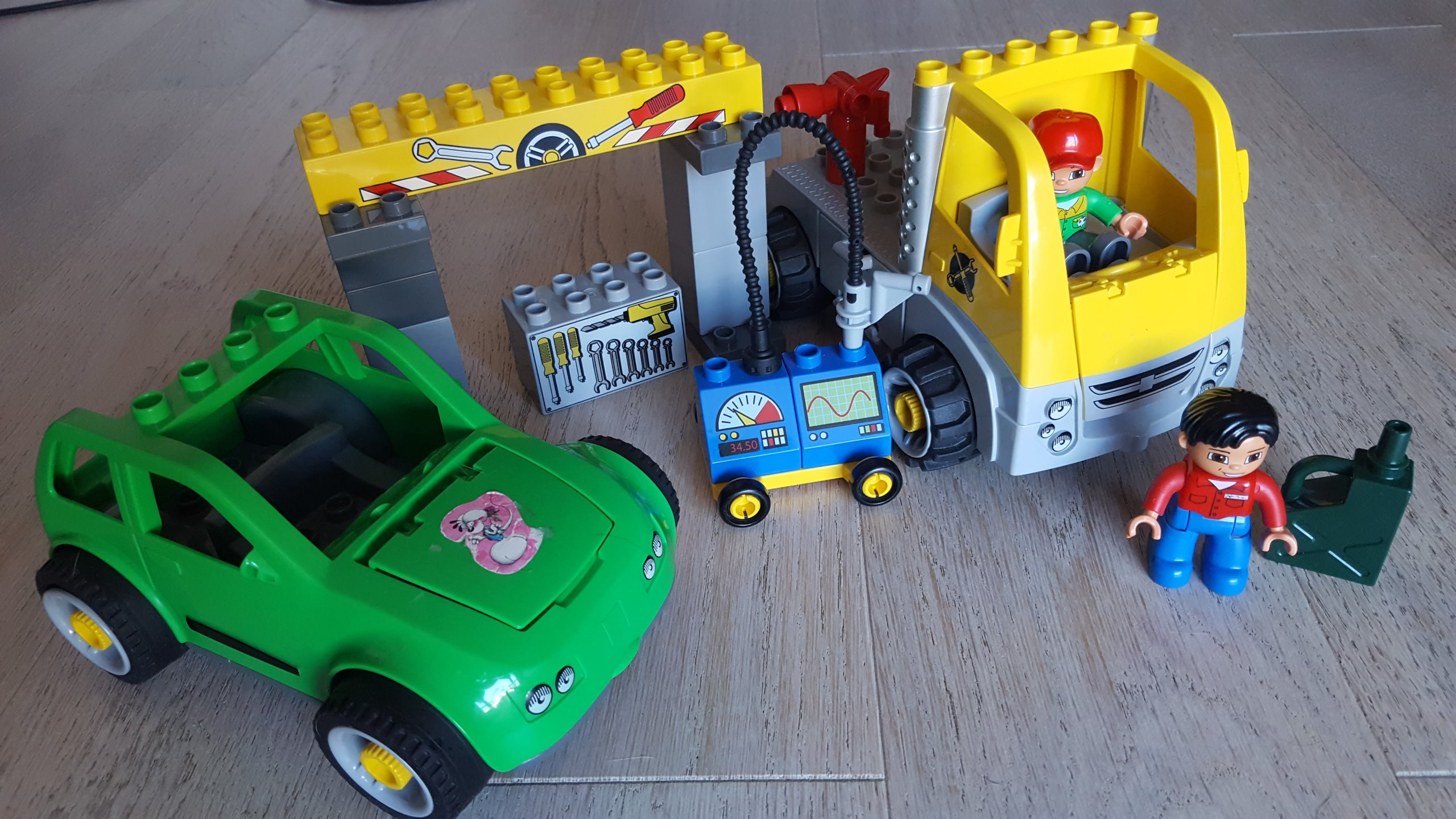 Lego Duplo Warsztat Samochodowy Zestaw 5641 7336190912 Oficjalne