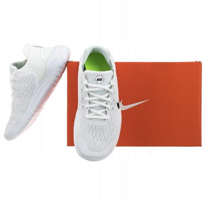 Buty Sportowe Nike Free RN 2018 (GS) AH3451 Białe