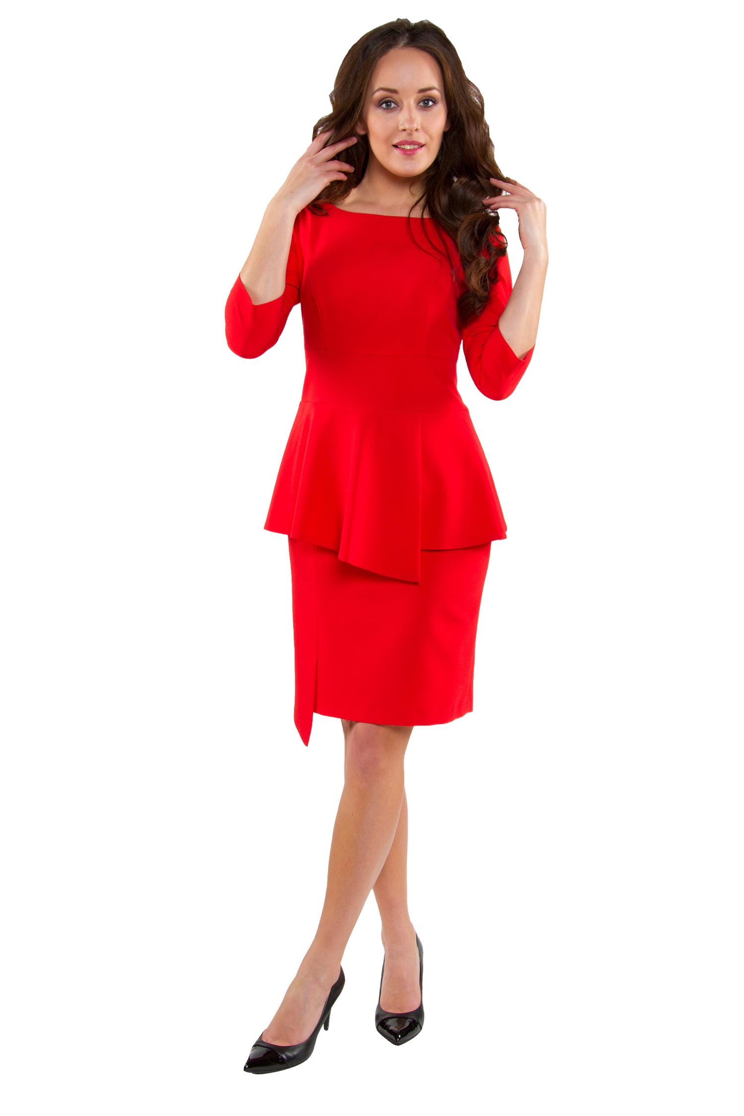 OKAZJA !! !! !! !!Sukienka baskinka czerwona 52 7389166897
