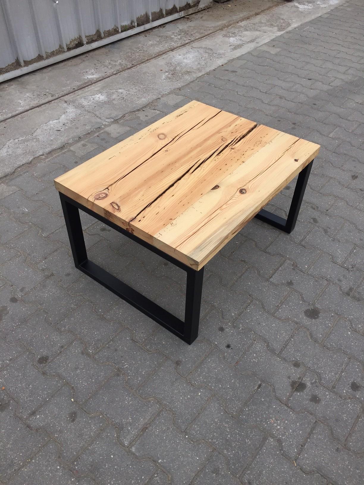 Niewiarygodnie Stolik kawowy ze starego drewna. Niepowtarzalny - 7295886862 RD06
