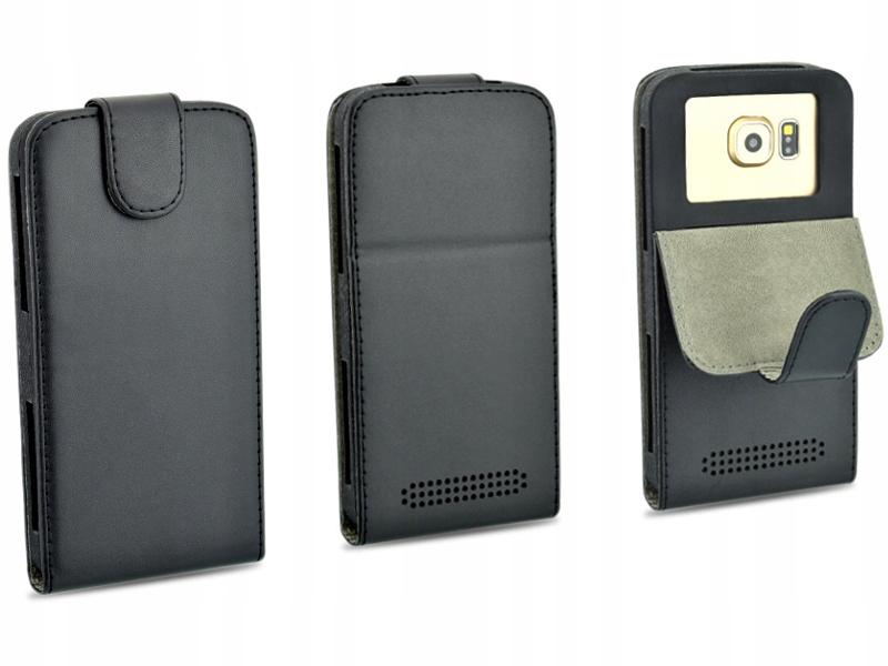 Etui czarne do telefonu SONY Xperia Z3 + Plus