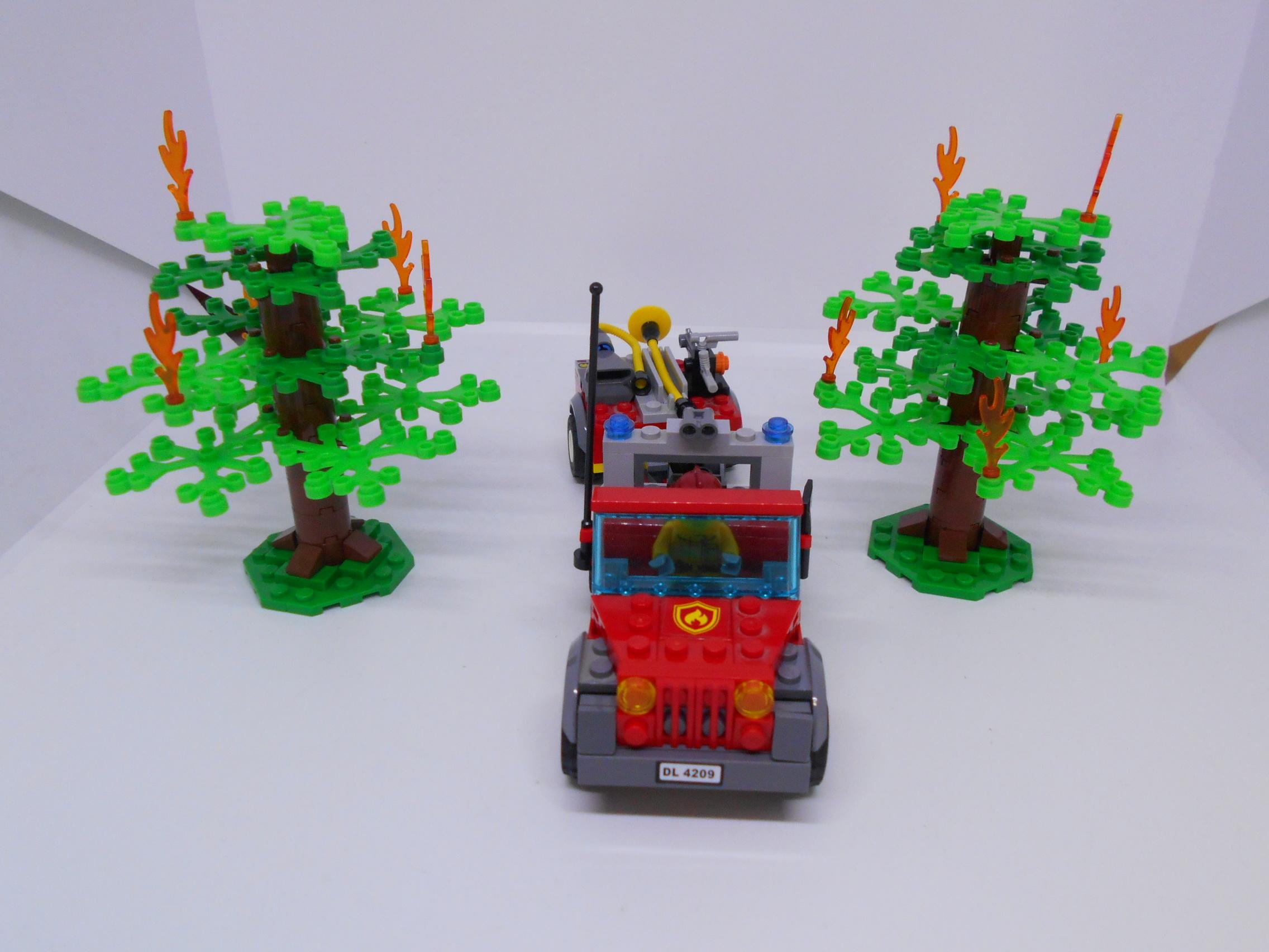 Lego City Straż Pożarna Samolot Gaśniczy 4209 7236620134