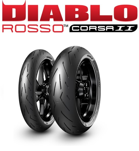 pirelli diablo rosso corsa 2 ii 120 70 17 190 55 1. Black Bedroom Furniture Sets. Home Design Ideas