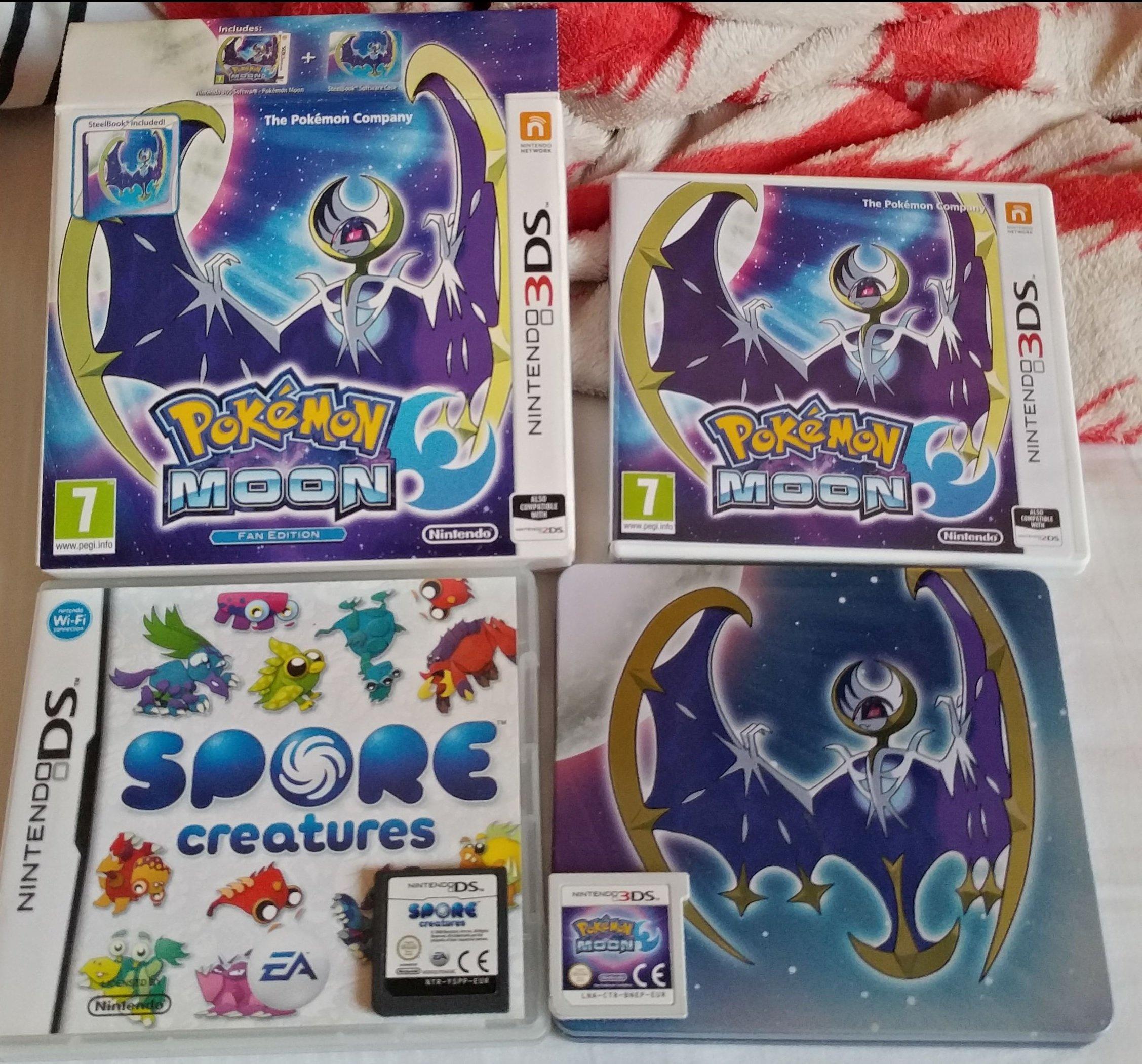 Pokemon Moon Steelbook Nintendo 3ds Xl 2d 7159735193