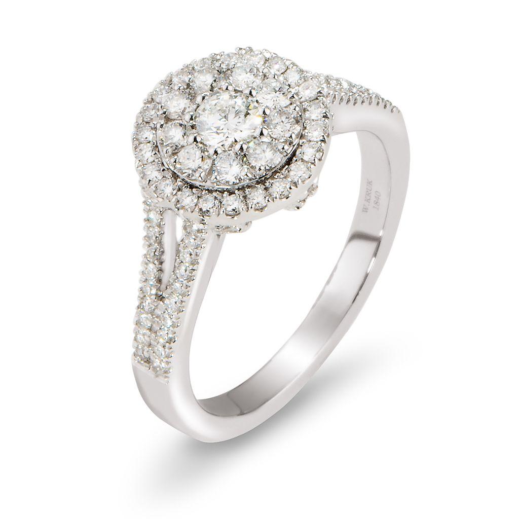 Pierścionek Zaręczynowy Złoty Wkruk Cena 8090 Zł 7352322391