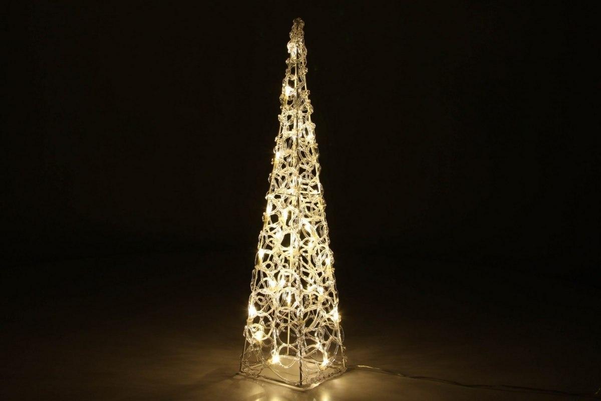 Piramida Choinka 60 Led Oświetlenie świąteczne Dom