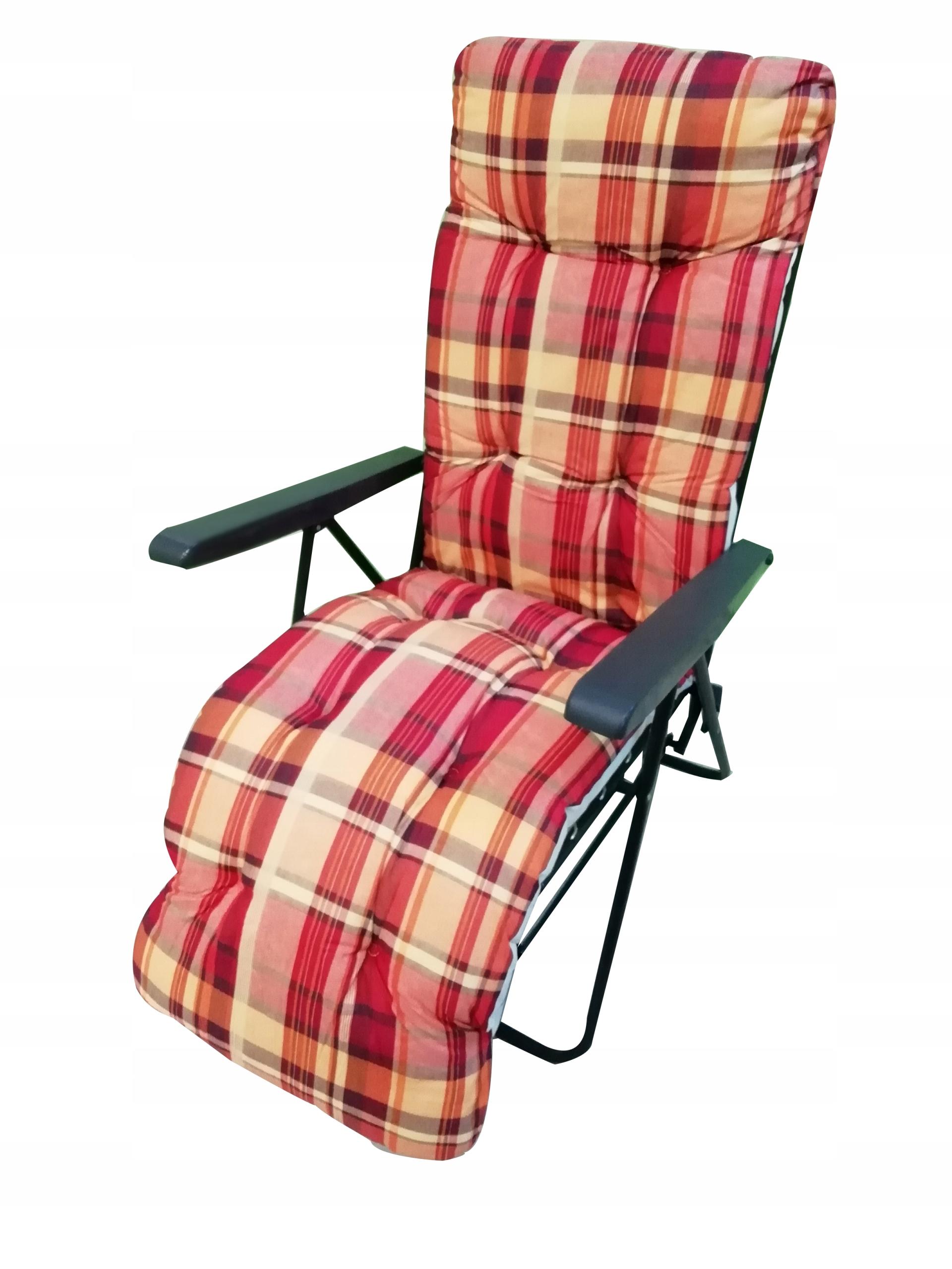 Fotel Leżak Regulowany 7 Pozycyjny Bringhton Plus