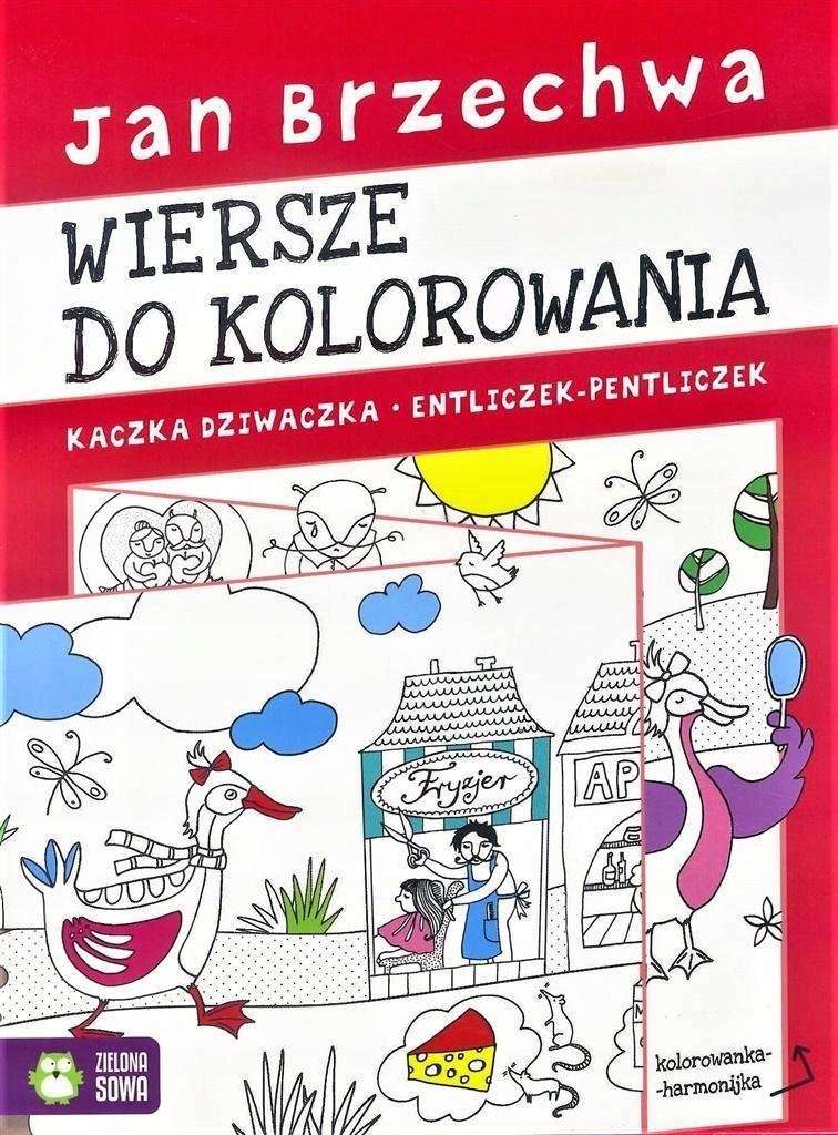 Kolorowanka Harmonijka Jan Brzechwa 7586397969