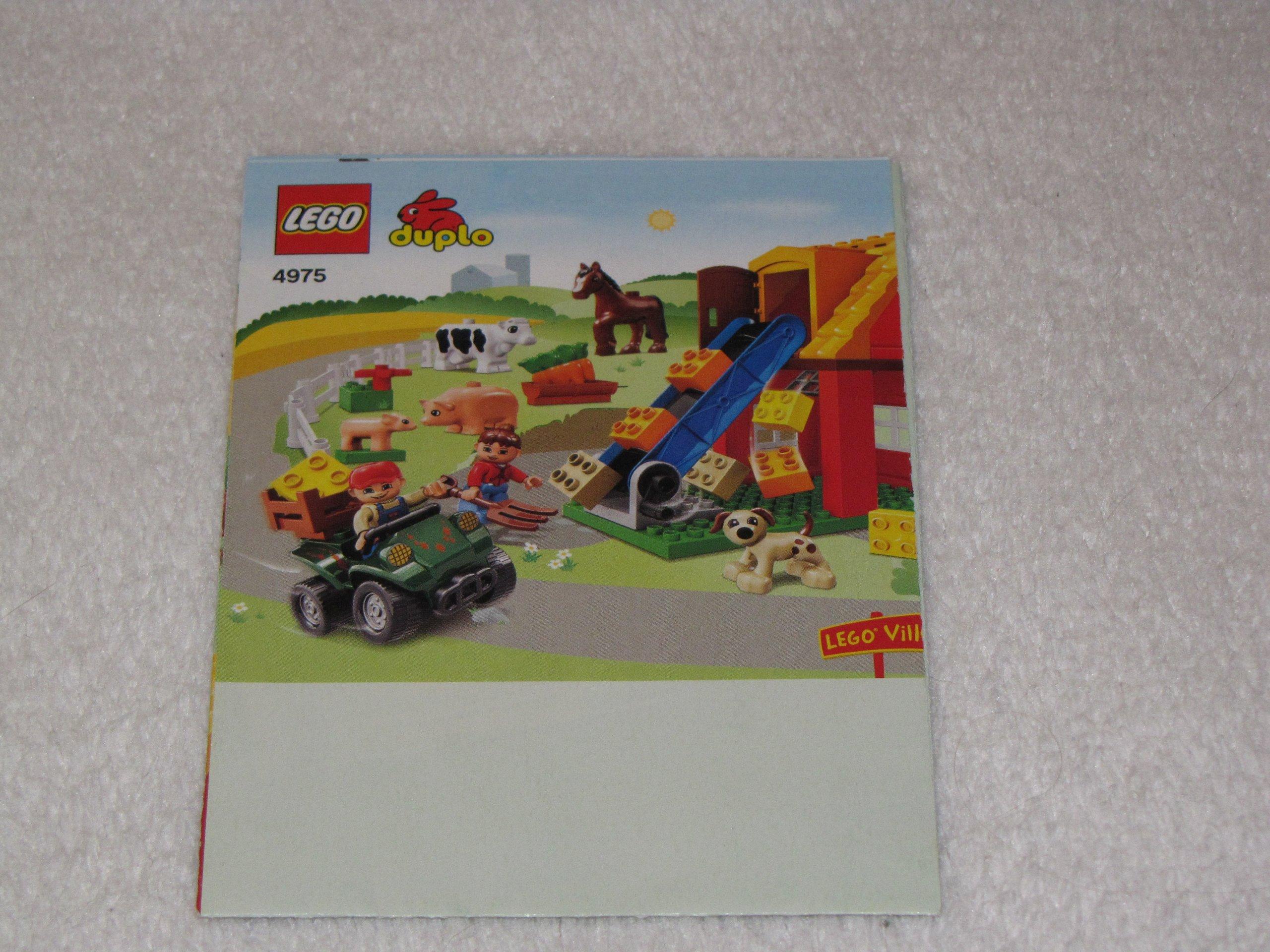 Lego Duplo Instrukcja 4975 Farma 7544971893 Oficjalne Archiwum