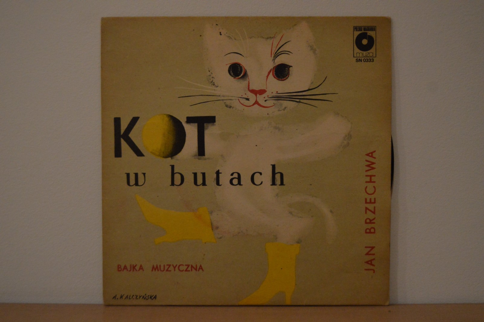 Jan Brzechwa Kot W Butach 7395419730 Oficjalne Archiwum Allegro