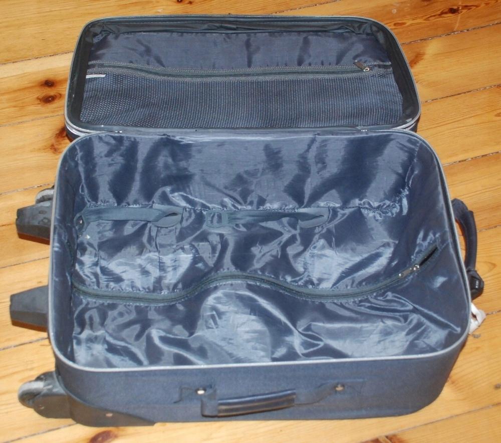 63f195cd32afc Używana walizka Conin 2 kółka rączka - 7564186699 - oficjalne ...