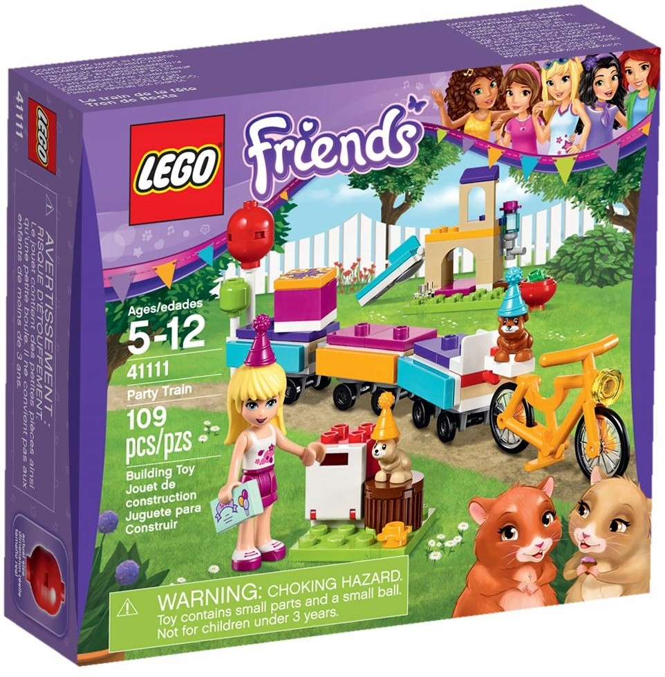 Lego Friends 41111 Imprezowy Pociąg Bydgoszcz 7544374454