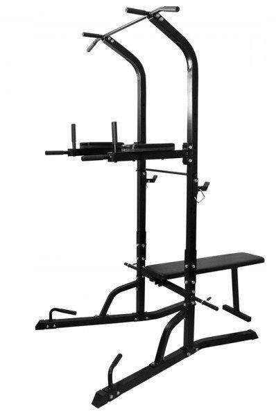 Ławka do ćwiczeń uniwersalna, atlas do siłowni