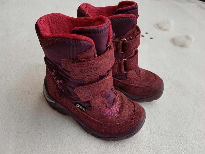 Buty zimowe kozaki ECCO r. 24